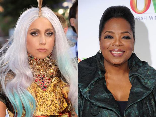 Lady Gaga beats Oprah on Forbes list