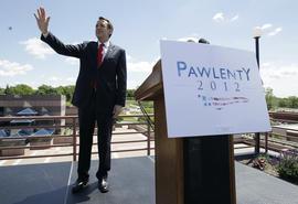 Tim Pawlenty, Iowa