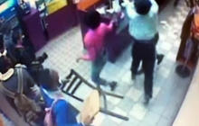 Dunkin' Donuts mob attack