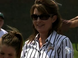 Palin's bus tour keeps media in the dark