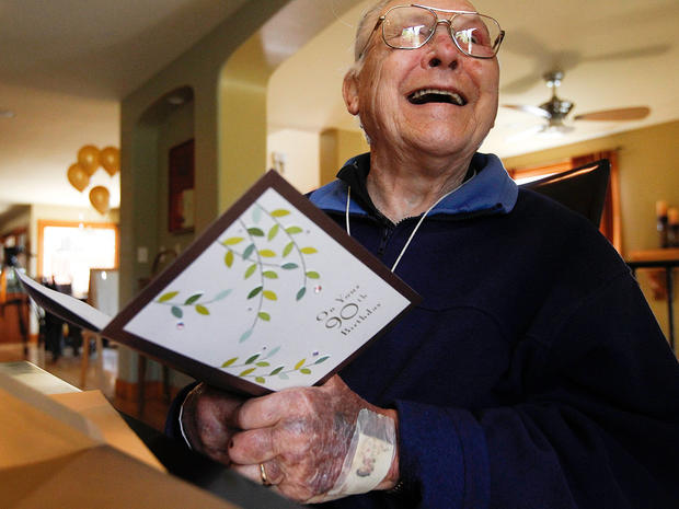 World's oldest diabetic? Bob Krause turns 90