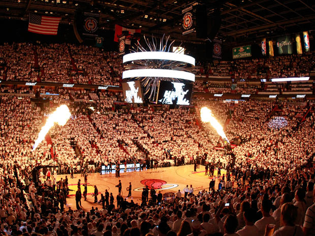 player introductions for Game One of the 2011 NBA Finals