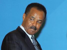 Isaias Afewerki, president of Eritrea,