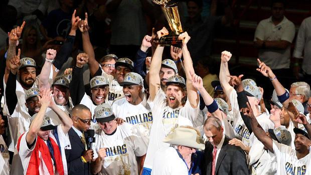 Dallas Mavericks are champions; Nowitzki is MVP - CBS News
