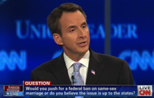 GOP candidates sound off on same sex marriage