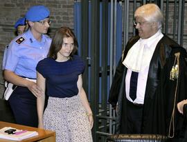 """Inmate testifies Amanda Knox """"innocent"""""""