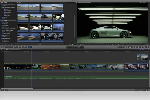 Final Cut Pro X makes debut on Mac App Store