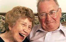 90-year-old woman finds love online