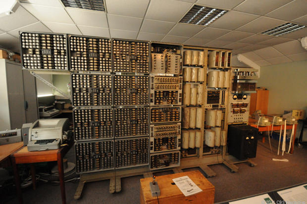 Breaking the Nazis' Enigma codes at Bletchley Park