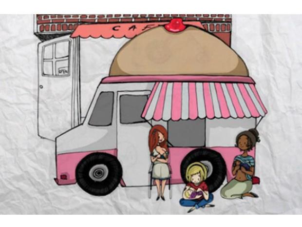 Breastfeeding truck to be funded using Kickstarter