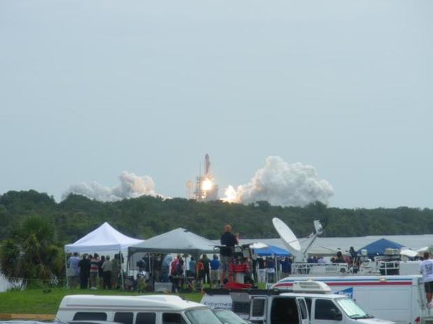 Shuttle Atlantis' Final Liftoff