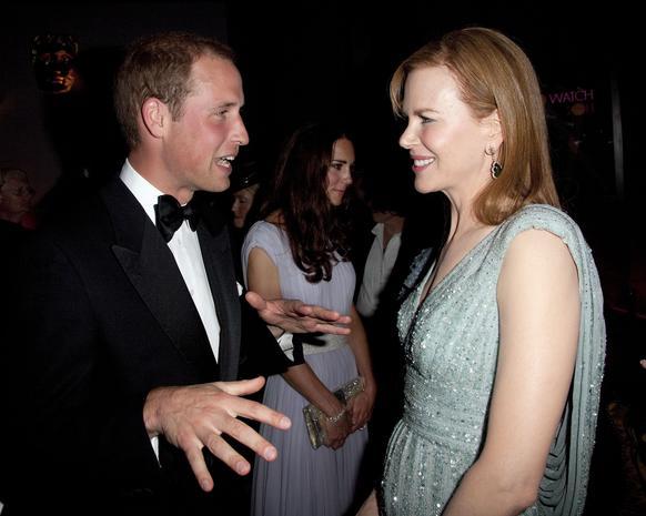 Royals, stars attend BAFTA gala