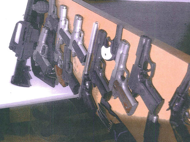 Guns and Money: Whitey Bulger evidence photos unsealed