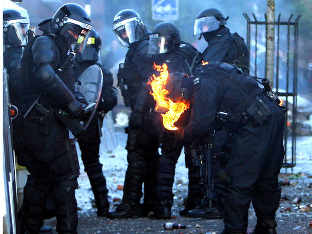 Northern Ireland riots
