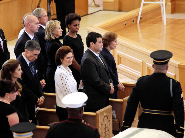Betty Ford's funeral