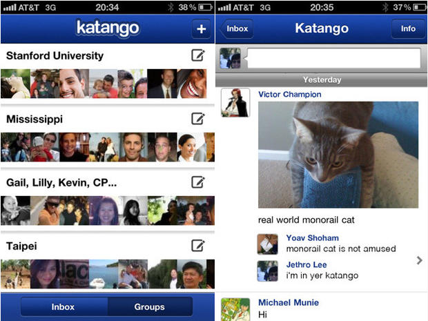 Katango iPhone app organizes Facebook friends like Google+ Circles