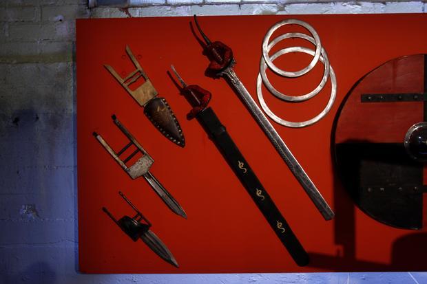 "Deadliest weapons from ""Deadliest Warrior"""