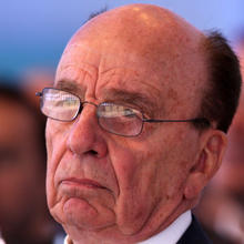Media mogul Rupert Murdoch attends the inaugural Abu Dhabi Media Summit March 9, 2010, in Abu Dhabi, United Arab Emirates. Photo credit: Getty Images
