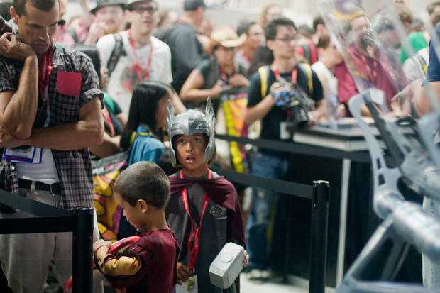 Geeking out at Comic-Con 2011