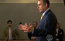Boehner walks away from debt talks