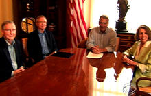 Congressional leaders meet for debt talks