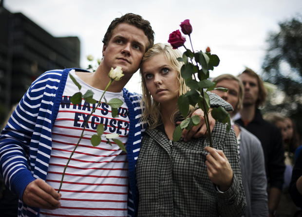 Norwegians unite in terror aftermath