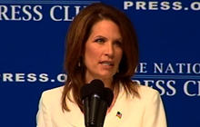 Bachmann vows to not raise debt ceiling