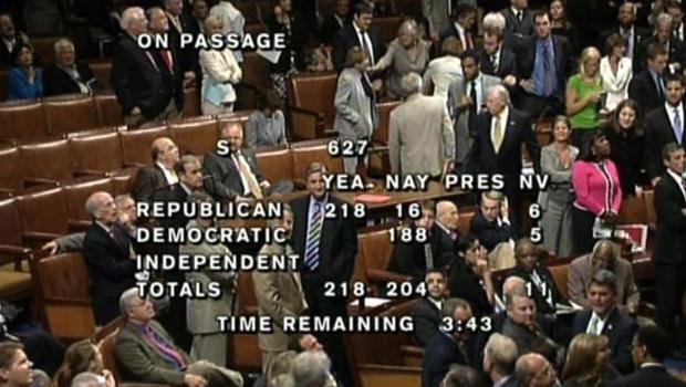 House Passes Dept Bill