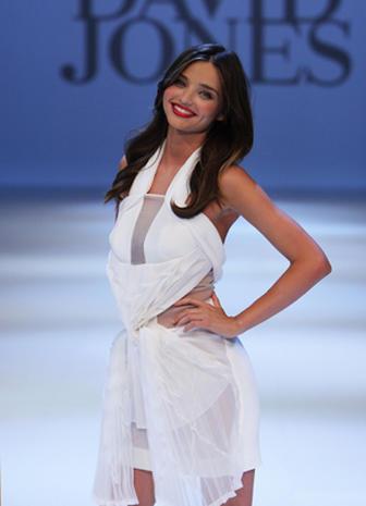 Miranda Kerr at David Jones' Spring/Summer 2011 Fashion Launch