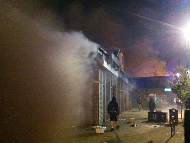 Tottenham riots lead to 160 arrests