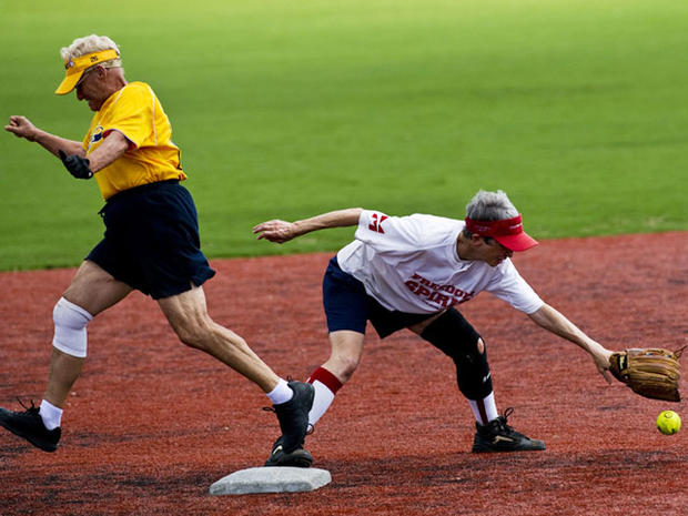 Amazing aging athletes: Buff bodies battle at Senior Games