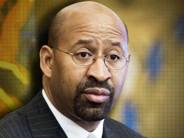 Philly Mayor Michael Nutter takes to pulpit to condemn flash mob violence