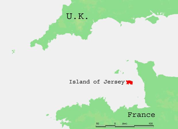 Channel Island map