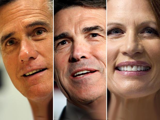 Romney, Perry, Bachmann