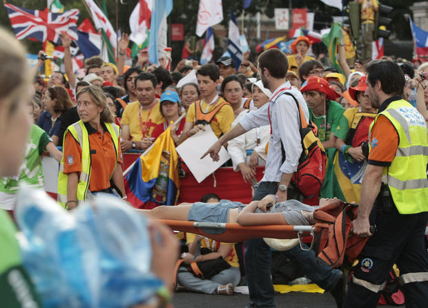 Pope attends World Youth Day