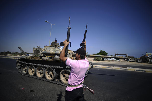 The battle comes to Tripoli
