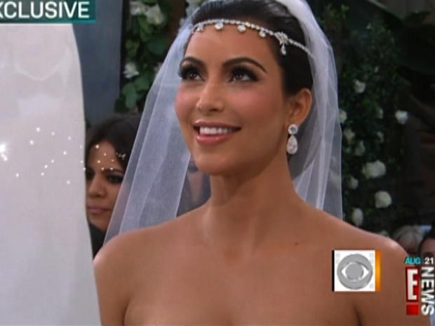 Kim Kardashian's fairytale wedding