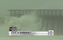 Irene will hug the East Coast, forecasters say