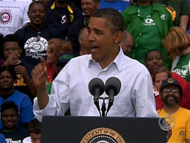 Obama previews jobs proposal in Detroit
