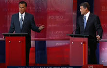 Romney, Perry get feisty over jobs record