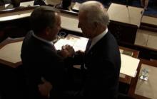 What are Boehner & Biden talking about? Not jobs...