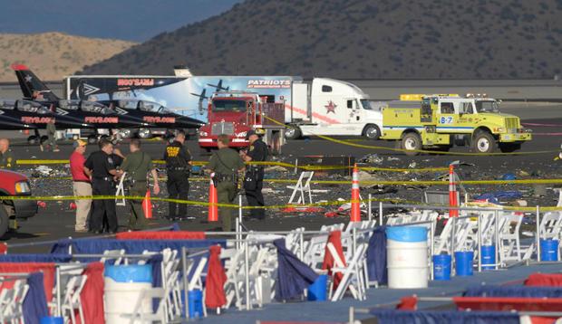 Deadly crash at Reno air races