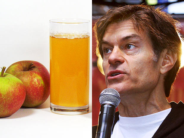 dr oz apple juice
