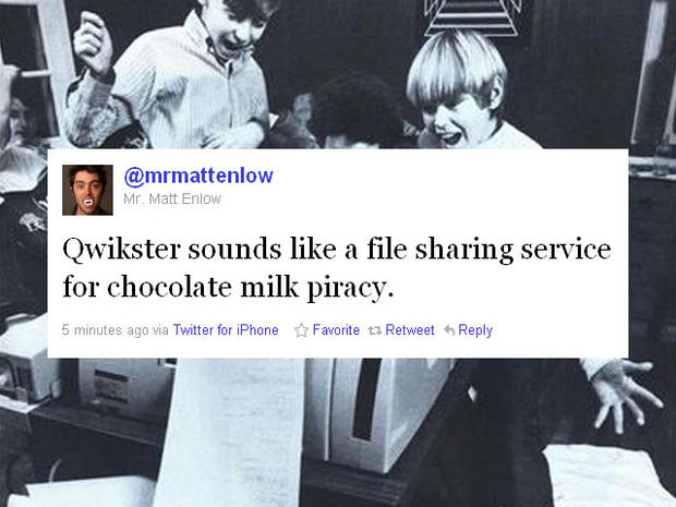 Funny tweets about Netflix's new service, Qwikster
