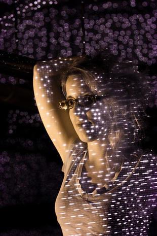 Amazing light art with the Xbox Kinect