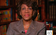 """Waters on Obama's call to """"Stop crying"""""""