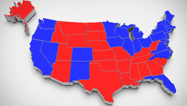 "Might ""blue America"" have a red gene? - CBS News"