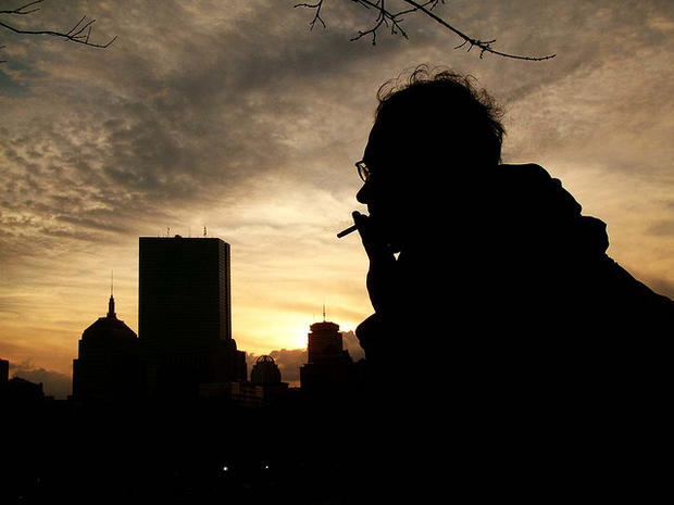 Gigs and cigs: Smoking rates in 22 occupations