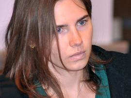 Amanda Knox arrives for appeal hearing in Perugia, Italy