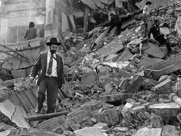 Agentina Jewish center bomb